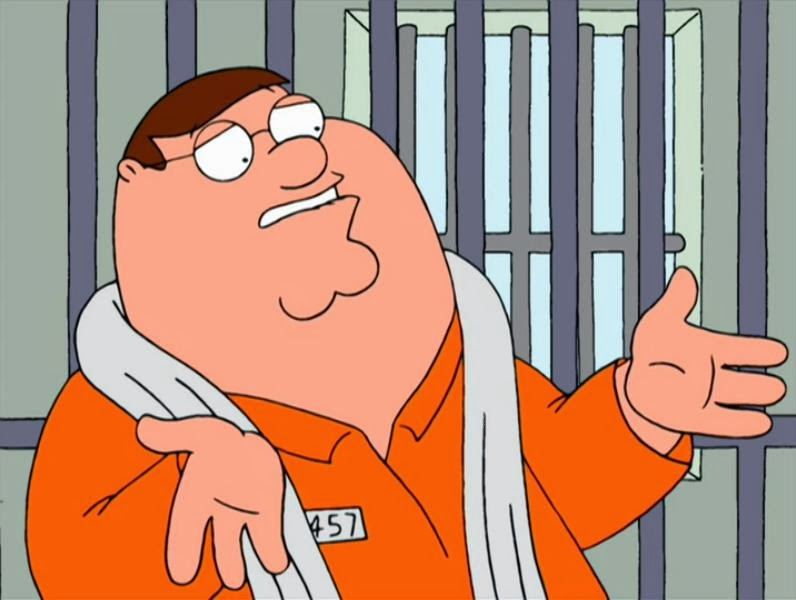 Family guy meg gets out of prison