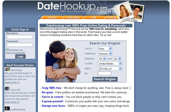 Feww online dating sites