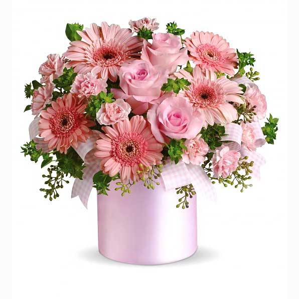 Flowers for a girl