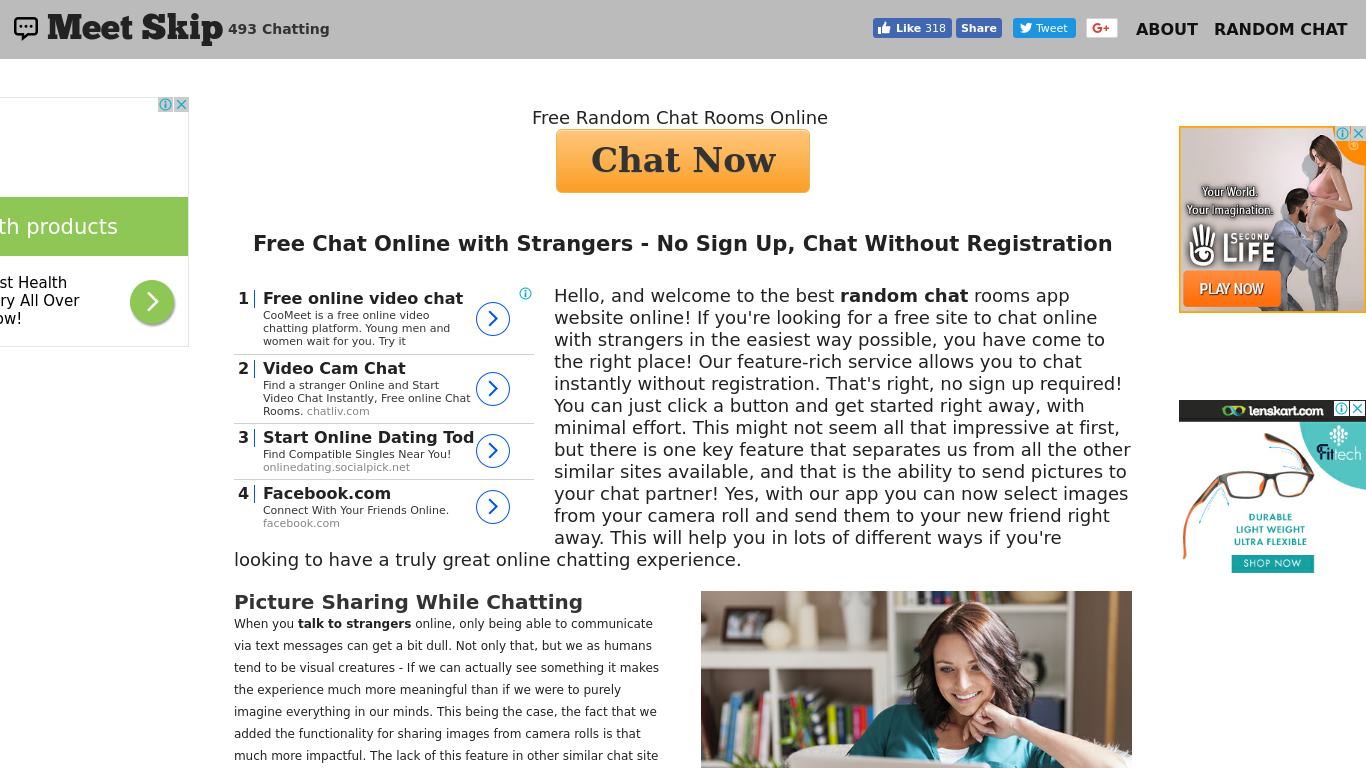 Free online chat with random people
