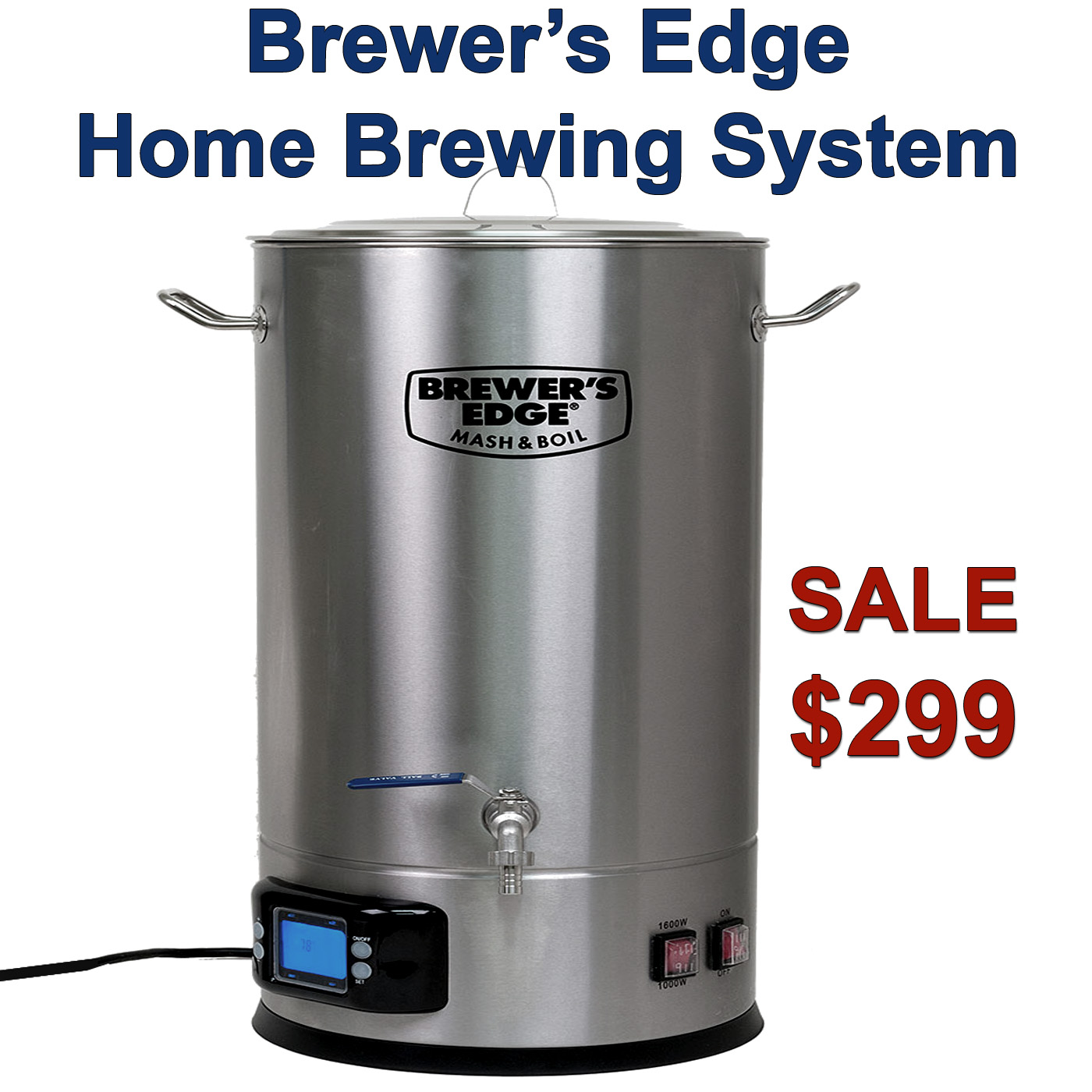 Home brewing systems for sale
