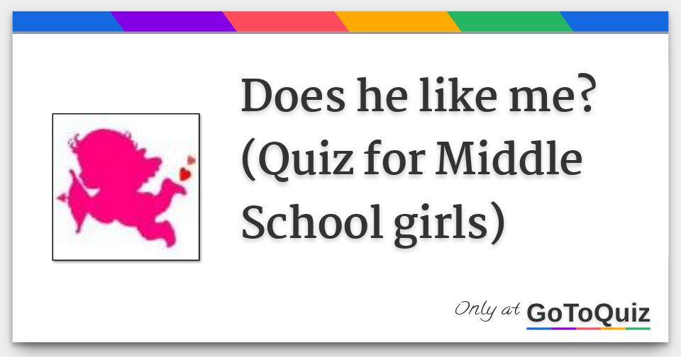 How can i tell if a guy likes me quiz