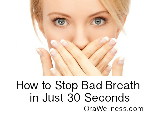 How do i know if my breath smells