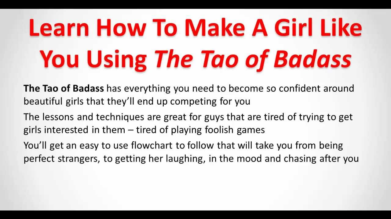 How to get a girl to like you quickly