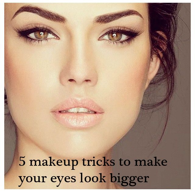 How to make your eyes appear bigger