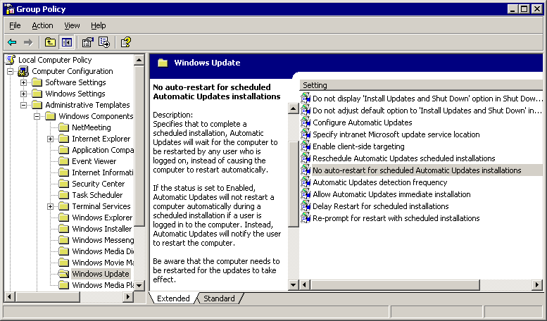 How to stop computer from updating when shutting down