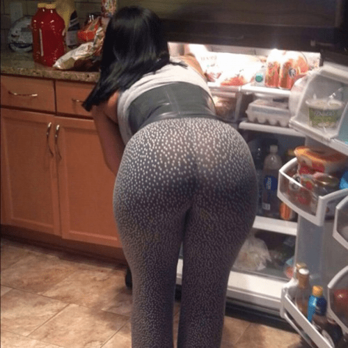 Leggings ass gallery