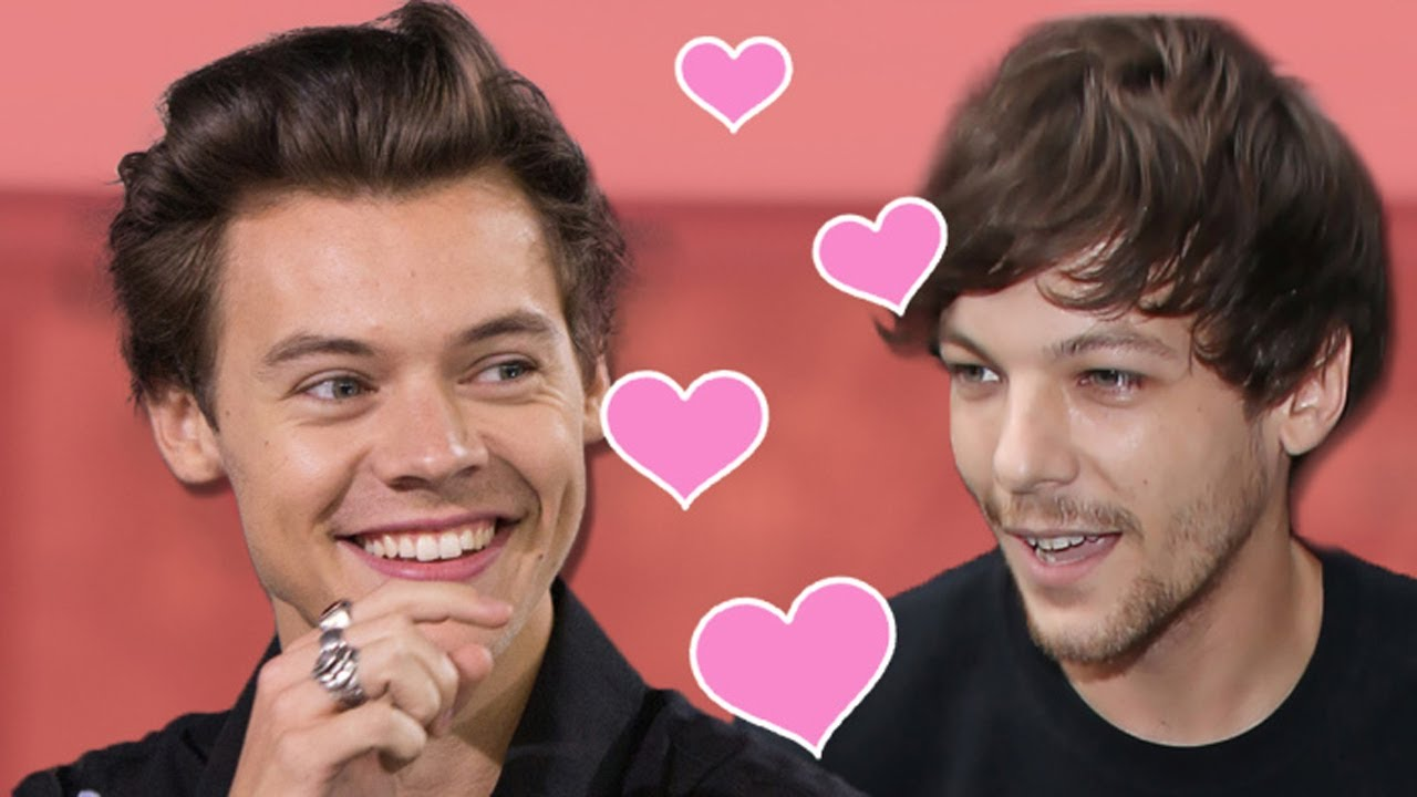 Louis and harry one direction dating