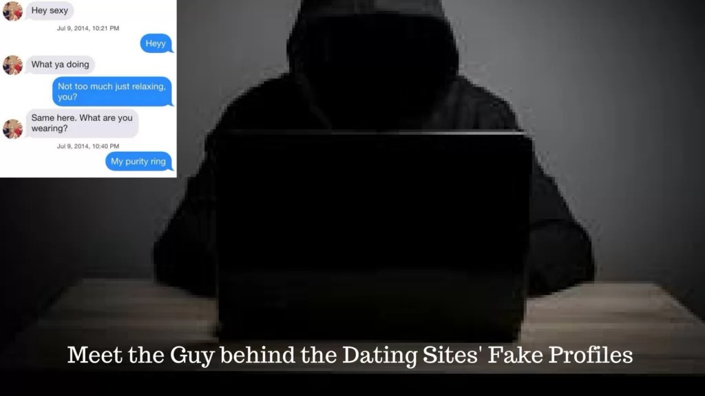My bf goes on dating sites