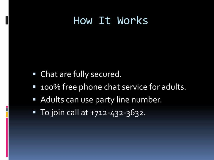 Nc chat line numbers