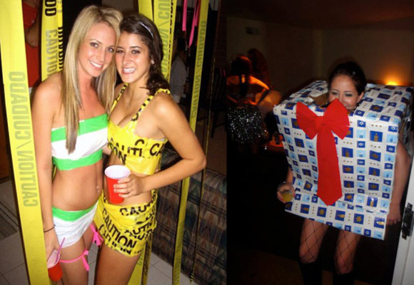 New college theme party ideas