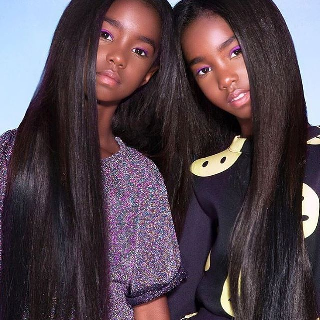 P diddy twin girls