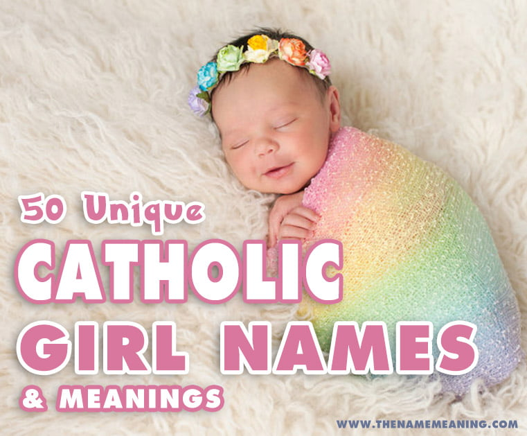 Popular catholic girl names