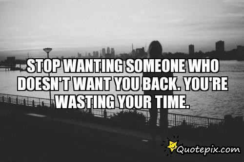 Quotes about wanting love back