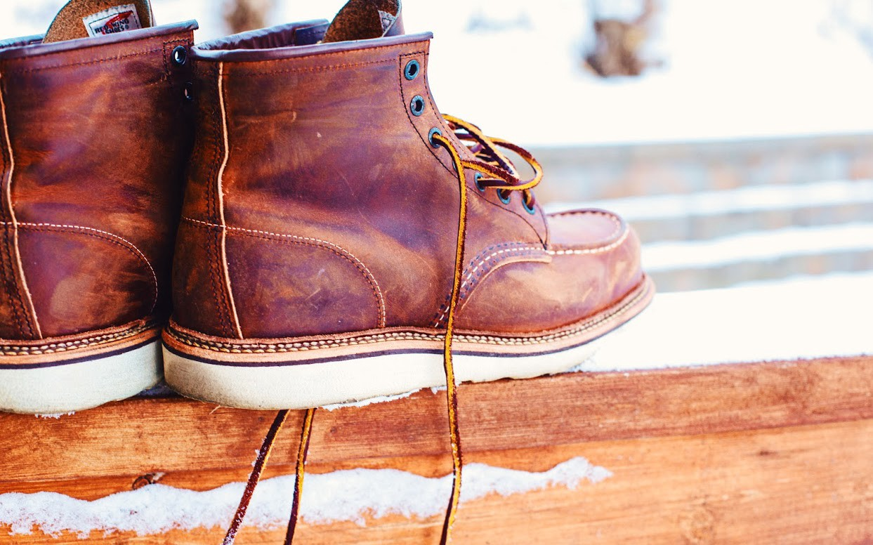 Red wing moc toe boot review