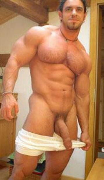 Sexy man with dick