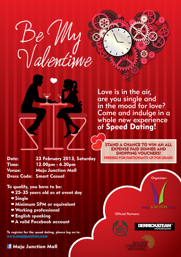 Speed dating event today