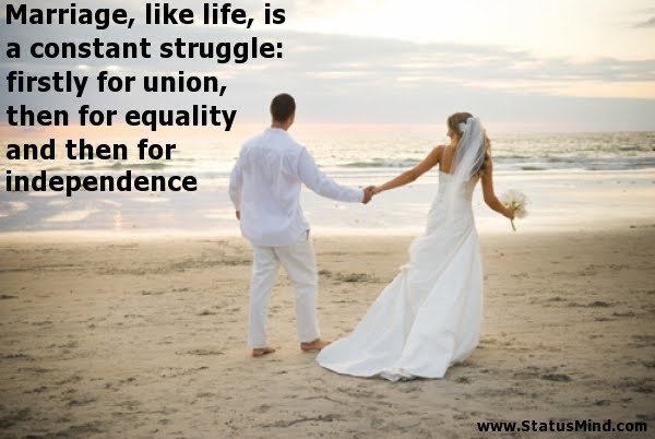 The beauty of marriage quotes