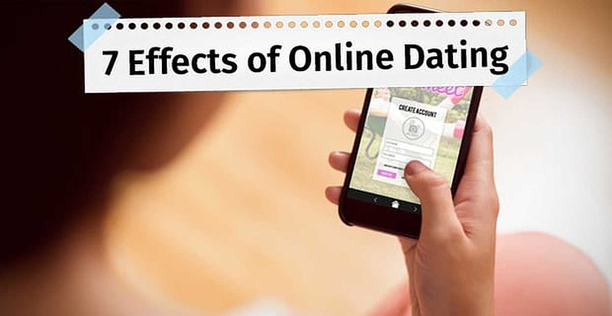 The effect of dating on line