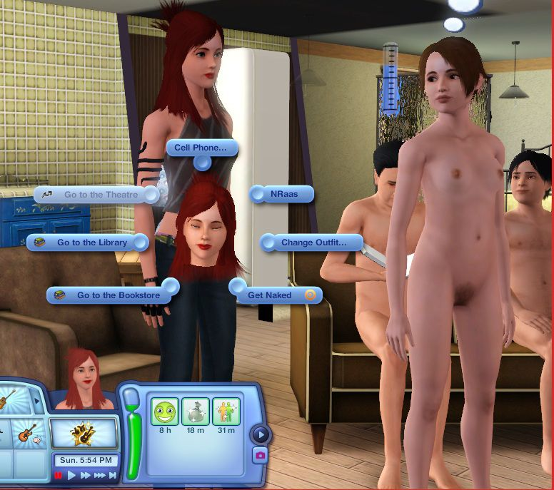 The sims 3 nudist mod download