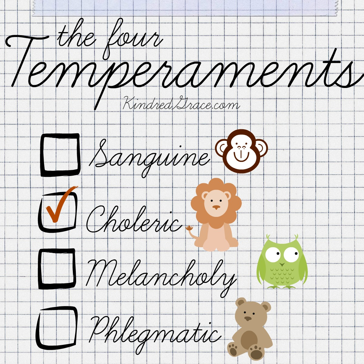 The temperament god gave you test