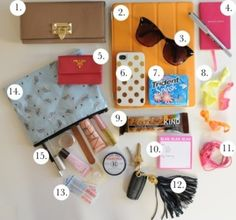 Things every girl needs in her purse