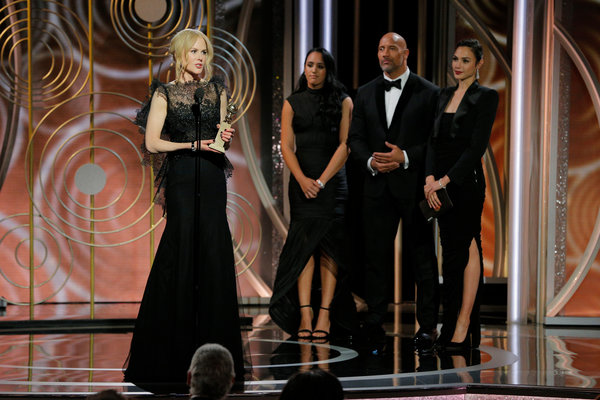 What channel are the golden globes on