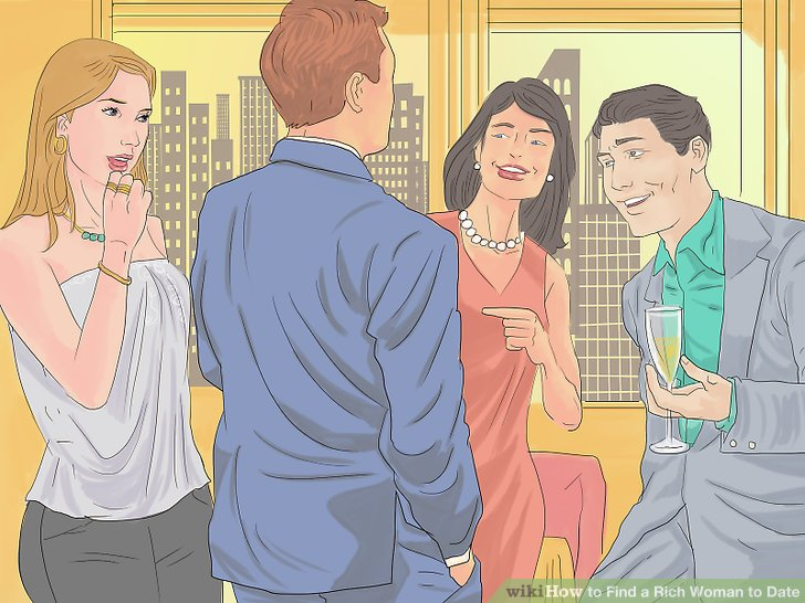 What to do when dating a rich girl