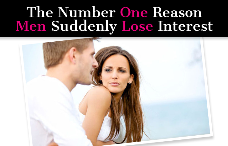 When a man loses interest in a woman