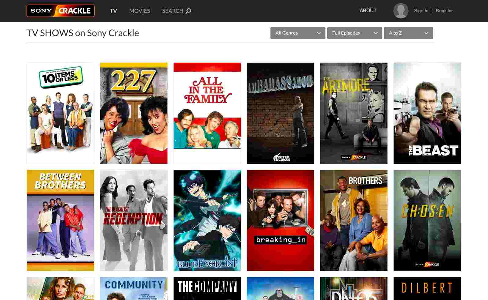 Where can i stream tv shows online