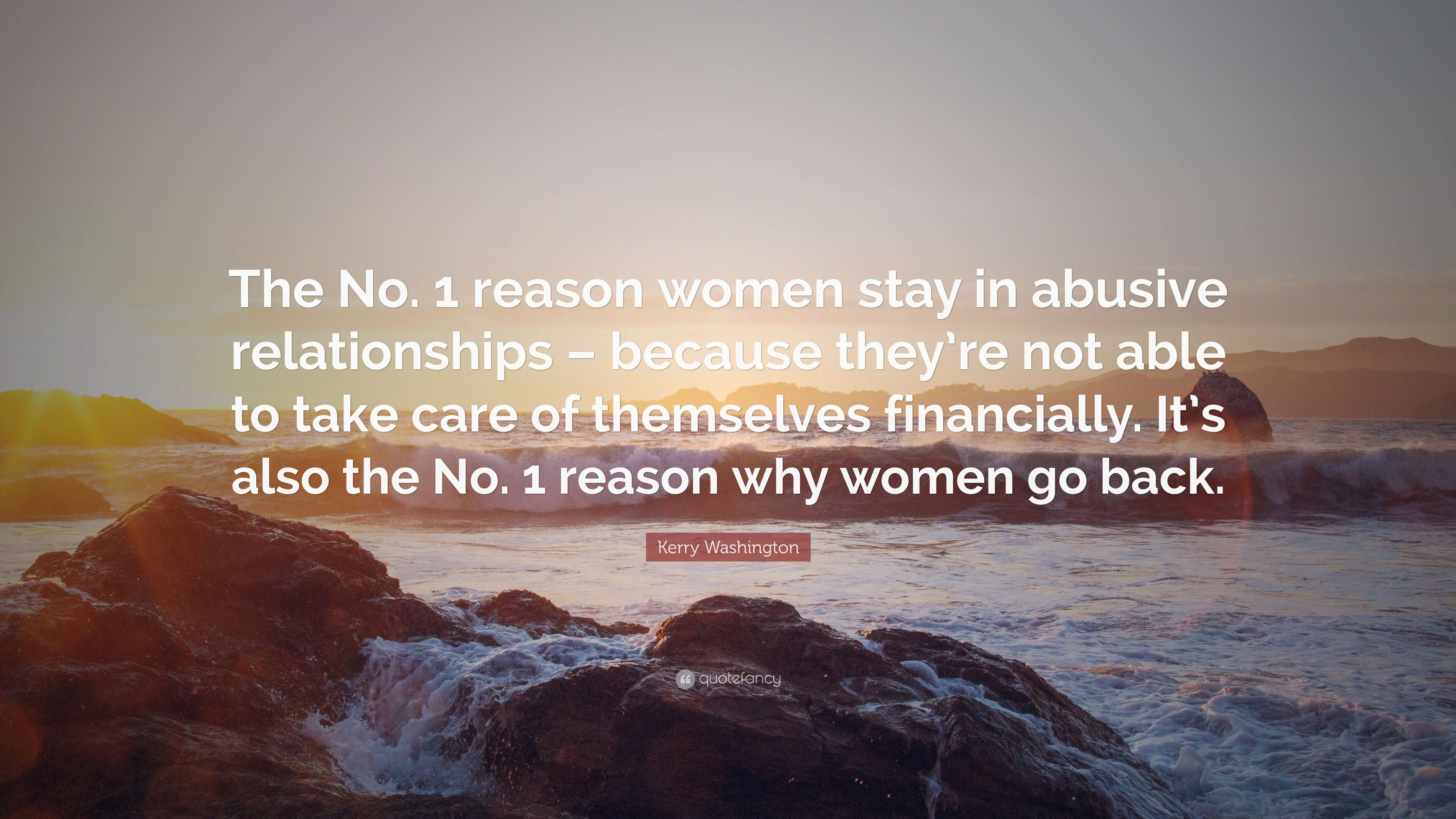 Why do women return to abusive relationships