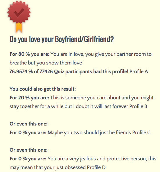 Will you ever get a girlfriend quiz