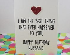 Witty birthday wishes for husband