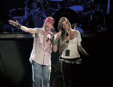 Axl rose who is he dating