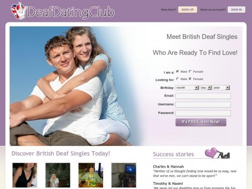 Deaf dating site for free