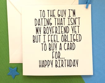 What to get the guy im dating for his birthday