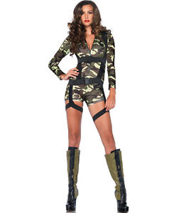 Sexy army girl costume