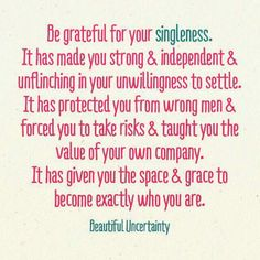 Quotes on being single and independent