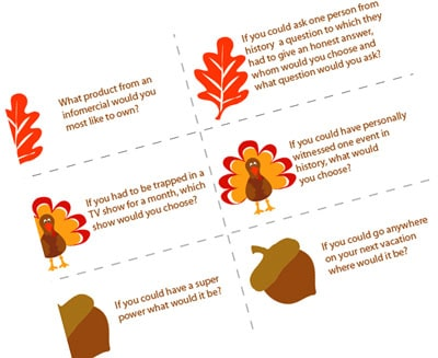 Easy thanksgiving games for adults