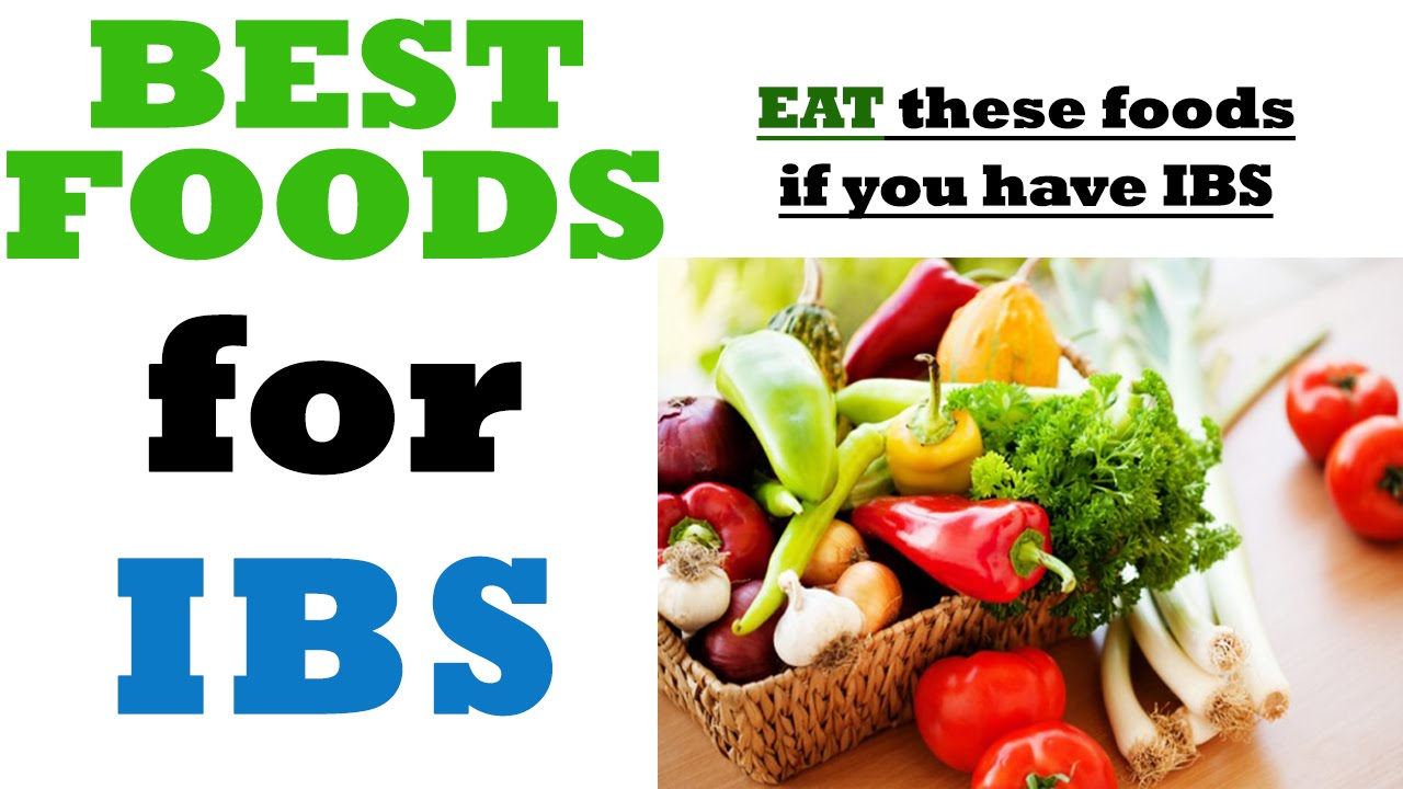 What to eat if you have ibs