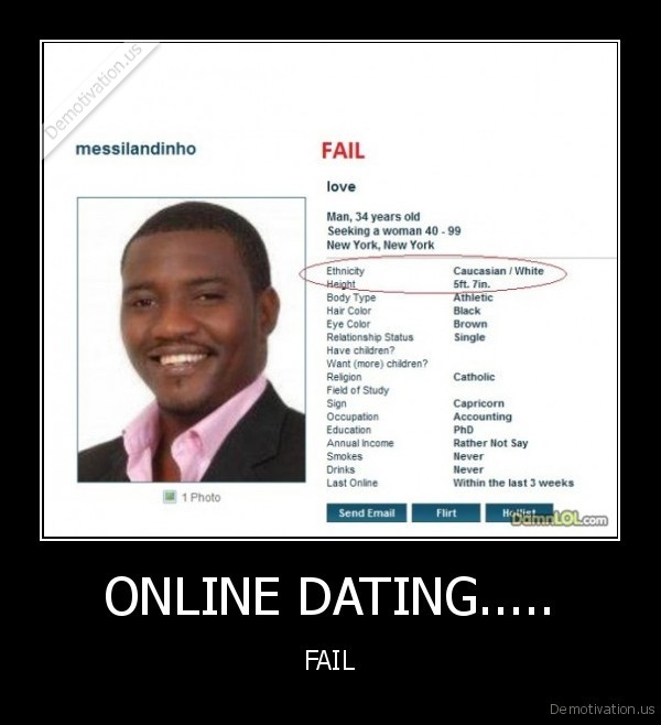 What to do when online dating fails