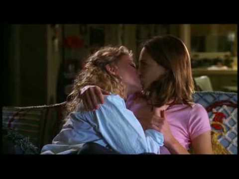 Show me two girls kissing