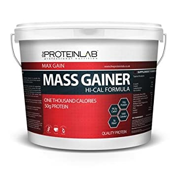 Mass gainer with most calories