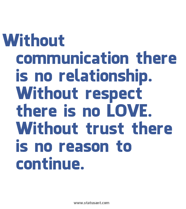 Trust and communication in marriage