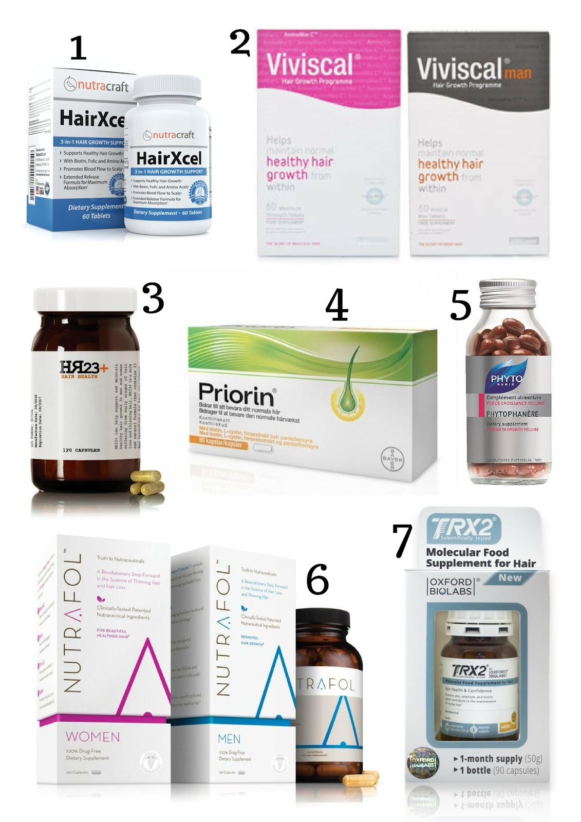 Best hair supplements for thicker hair