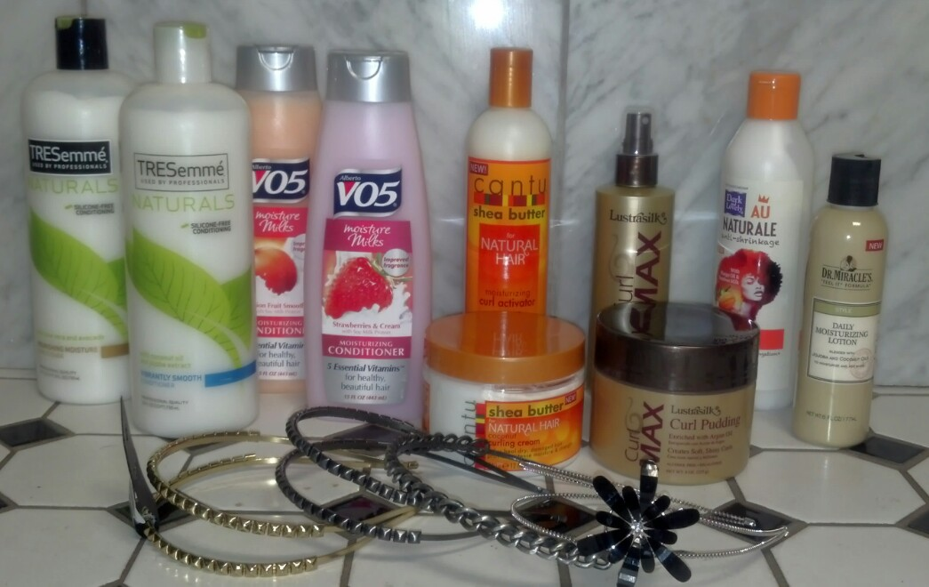 From relaxed to natural hair products