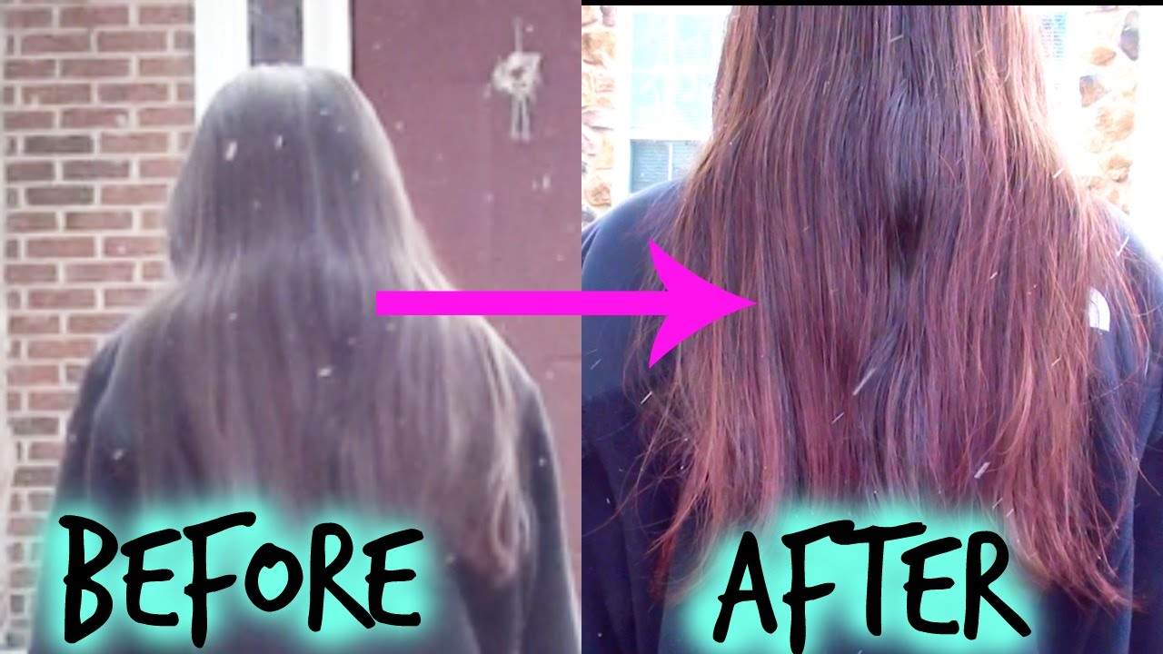 How to color hair with kool aid