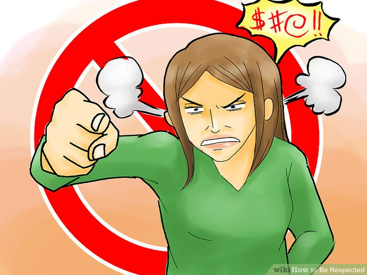 How to make someone respect you