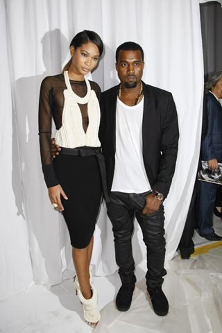 Did chanel iman dating kanye west