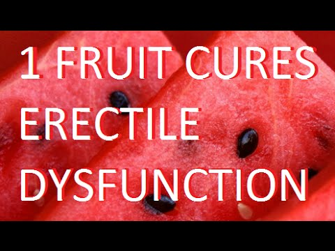 Natural ways to get rid of erectile dysfunction